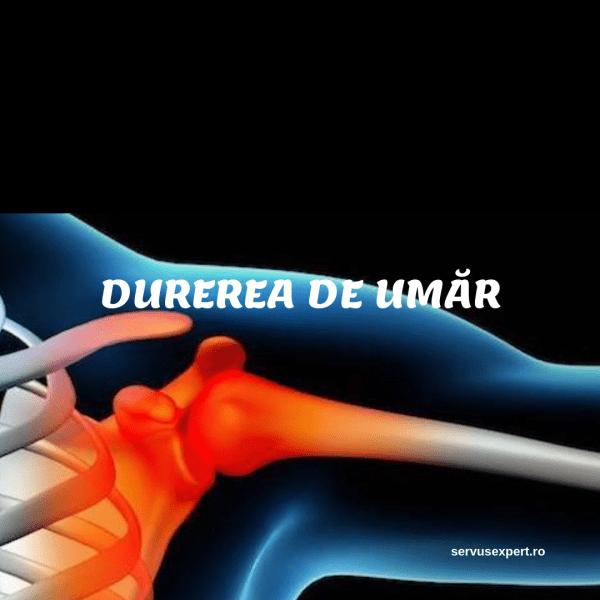 dacă articulația umărului mâinii stângi doare