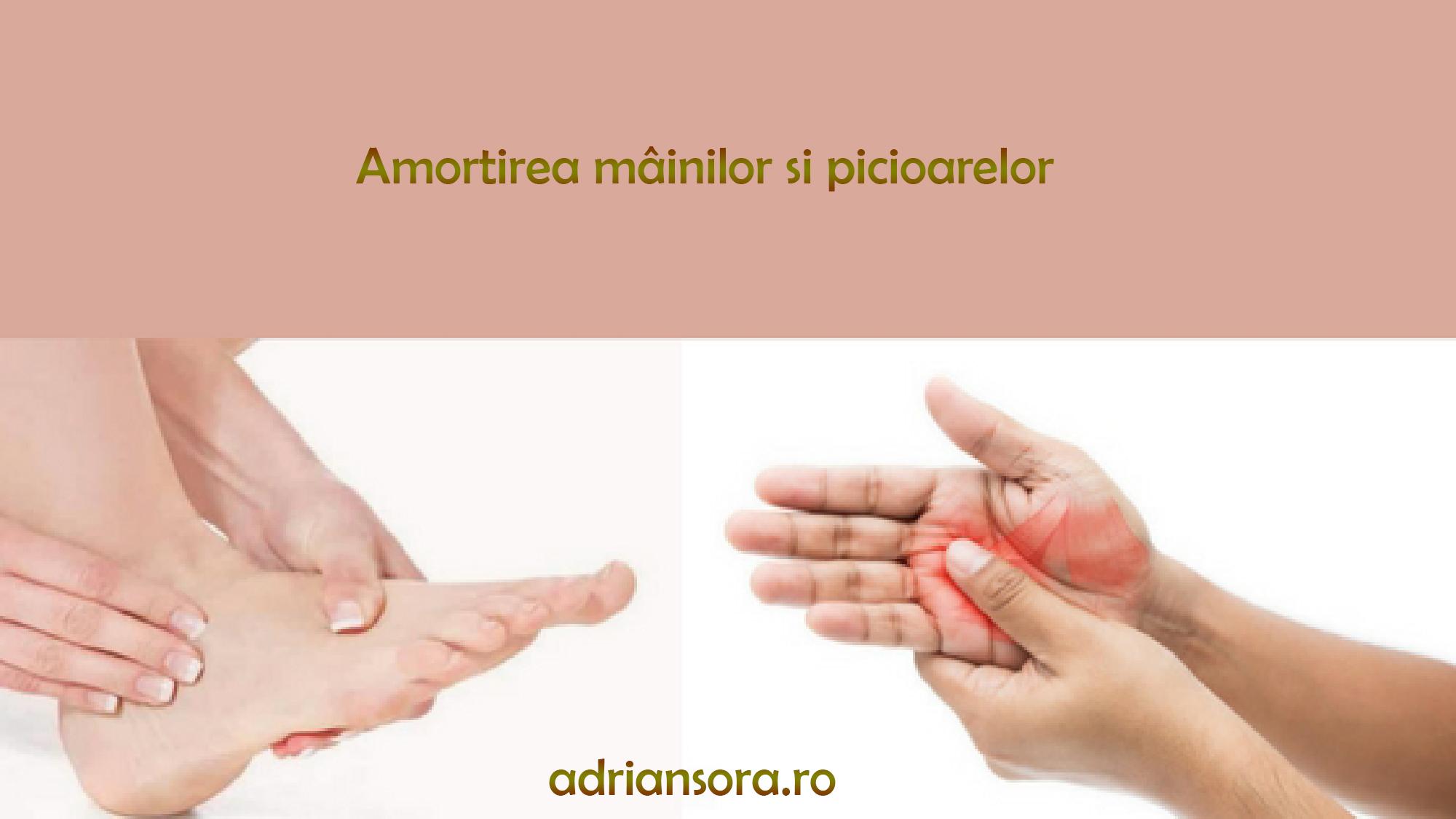 tratamentul amorțelii mâinilor și al durerilor articulare toate boala crunch articulare