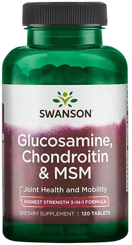 necesarul zilnic de glucozamină și condroitină
